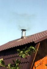 Монтаж дымохода «Сэндвич» от банной камино-печи «Калина» 6 м. г. Саратов, п. Займище.