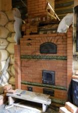 Перекладка разрушенного наружнего контура печи после не профессиональной работы плотнико при монтаже парной и крыши._22
