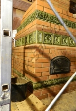 Перекладка разрушенного наружнего контура печи после не профессиональной работы плотнико при монтаже парной и крыши._24