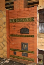 Перекладка разрушенного наружнего контура печи после не профессиональной работы плотнико при монтаже парной и крыши._28