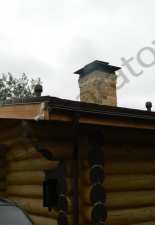 Перекладка разрушенного наружнего контура печи после не профессиональной работы плотнико при монтаже парной и крыши._34