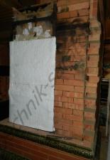 Перекладка разрушенного наружнего контура печи после не профессиональной работы плотнико при монтаже парной и крыши._3