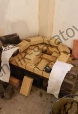 Угловой камин,п.Комсомольский,г.Саратов
