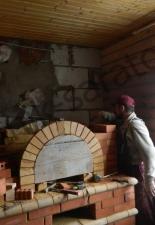Мини-русская печь с.Вязовка