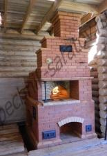Русская печь с плитой 3 с.М.Тополёвка