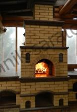 Русская мини-печь с казанницей г.Саратов