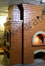 Кухонный комплекс с русской печь с.Кошели