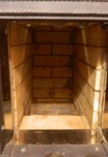 Прямоточная банная печь на 100кг камней