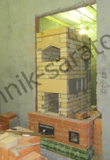Банная печь с изразцами на 100кг камней г.Саратов