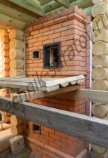 Банная печь на 200кг камня,д.Николаевка Саратовская обл.