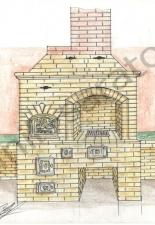 Эскизы и проекты кухонных комплексов