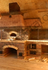 Кухонный комплекс:русская мини-печь,коптильня,казан село Николаевка
