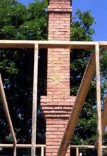 Печная труба высота 4,5м, «пятерик». с. Усовка.