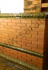 Перекладка разрушенного наружнего контура печи после не профессиональной работы плотнико при монтаже парной и крыши._11
