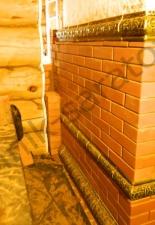 Перекладка разрушенного наружнего контура печи после не профессиональной работы плотнико при монтаже парной и крыши._13