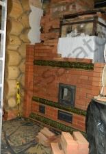 Перекладка разрушенного наружнего контура печи после не профессиональной работы плотнико при монтаже парной и крыши._14