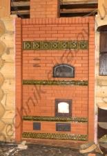 Перекладка разрушенного наружнего контура печи после не профессиональной работы плотнико при монтаже парной и крыши.