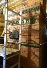 Перекладка разрушенного наружнего контура печи после не профессиональной работы плотнико при монтаже парной и крыши._23