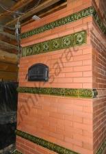 Перекладка разрушенного наружнего контура печи после не профессиональной работы плотнико при монтаже парной и крыши._26