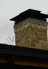 Перекладка разрушенного наружнего контура печи после не профессиональной работы плотнико при монтаже парной и крыши._35