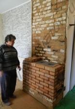 Ремонт отопительно-варочной печи село Тополёвка Сар.обл.