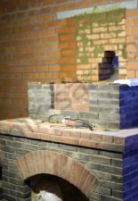 Монтаж дымохода КДМ 400 диаметра от камина п.Родные просторы