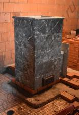 Кладка портала под печь