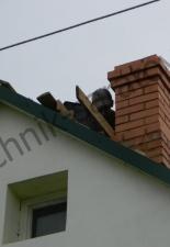 Ремонт трёхканального дымохода п.Дубки