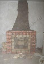 Пристенный камин,г.Саратов