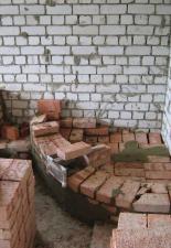 Угловой камин,п.Елшанка,г.Саратов