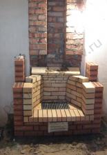 Пристенный камин,дачи Тополёвка,Энгельский р-н