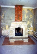 Пристенный камин с.Багаевка,Саратовский р-н