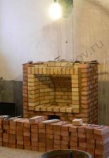 Пристенный камин,п.Заря,г.Энгельс