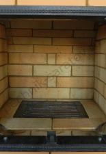 Пристенный эркерный камин.п.Лунный,г.Энгельс