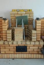 Пристенный камин,п.Сосенки,г.Саратов