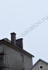 Изразцовый камин,с.Усть-Курдюм,Саратовская обл.