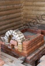 Русская печь с плитой 2 с.М.Тополёвка