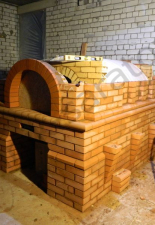 Русская печь оштукатуренная с росписью г.Энгельс