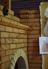 Русская печь с отопительным щитком с.Оркино,Петровский р-н.Саратовская область
